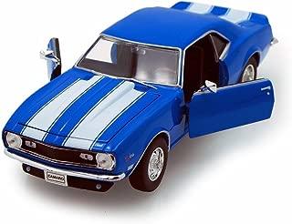 1968 Chevy Camaro Z/28, Blue - Welly 22448 - 1/24 scale Diecast Model Toy Car