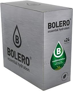 Bolero Bebida Instantánea Sin Azúcar, Sabor Asperilla de los Bosques - Paquete de 24 x 9 gramos - Total 216 gramos
