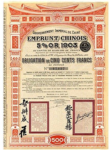 1903 CN GIANT ORIGINAL IMPERIAL CHINA KAIFONG FOU – HONAN...
