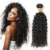 CLAROLAIR 8A sin procesar brasileños cabello virgen humano paquetes afro rizados cabello virgen Crespo sin procesar Remy humano extensiones (100 +/-5g) (18 inch)