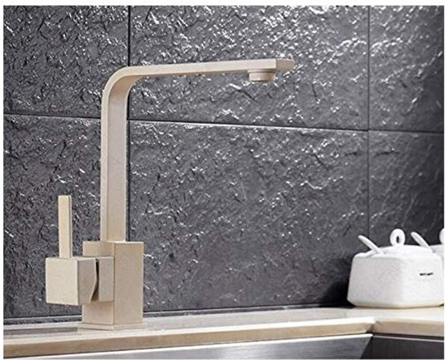 Faucet Kitchen Washing Basin Sanitary Ware with Single Handle Kitchen Sink Faucet of Brass Kitchen Mixer Tap Chrome Water Faucet