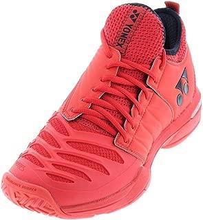 Yonex-Men`s Power Cushion Fusionrev 3 Tennis Shoes Red-()