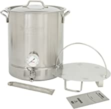 Bayou Classic 800-408 – 8-Gal Premium Brew Kettle, 6-Pc Set
