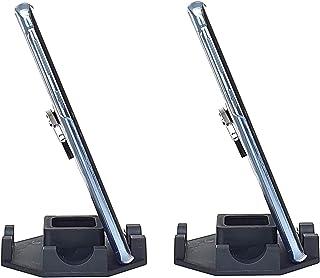 Kit com 2 Suporte Genial de Mesa para Celular ou Mini Tablet Serve em todos os aparelhos iPhone Samsung Motorola LG e outr...