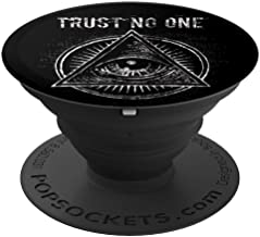 Illuminati Trust No One All Seeing Eye - PopSockets Grip and Stand for Phones and Tablets
