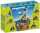 Playmobil Coleccionables - Sports & Action Moto de Motocross Playsets de Figuras de jugete (Playmobil 5525)