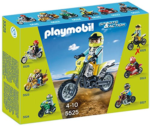 Playmobil Coleccionables - Sports & Action Moto de Motoc
