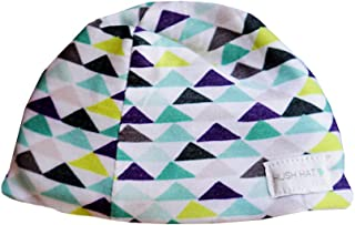 HUSH Hat by HUSH Baby - Sound Absorbing Lightweight Baby Hat - Fits Newborns to Toddlers Aged 2 Geo Triangles 小号