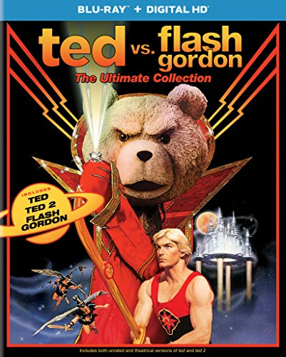 Photo of TED VS FLASH GORDON: ULTIMATE [Blu-ray]