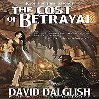 The Cost of Betrayal audiobook cover art