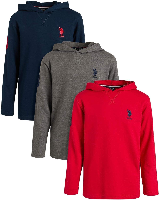 Max 69% OFF Max 69% OFF U.S. Polo Assn. Boys' Sweatshirt - Hoodie Lightweight Pullover