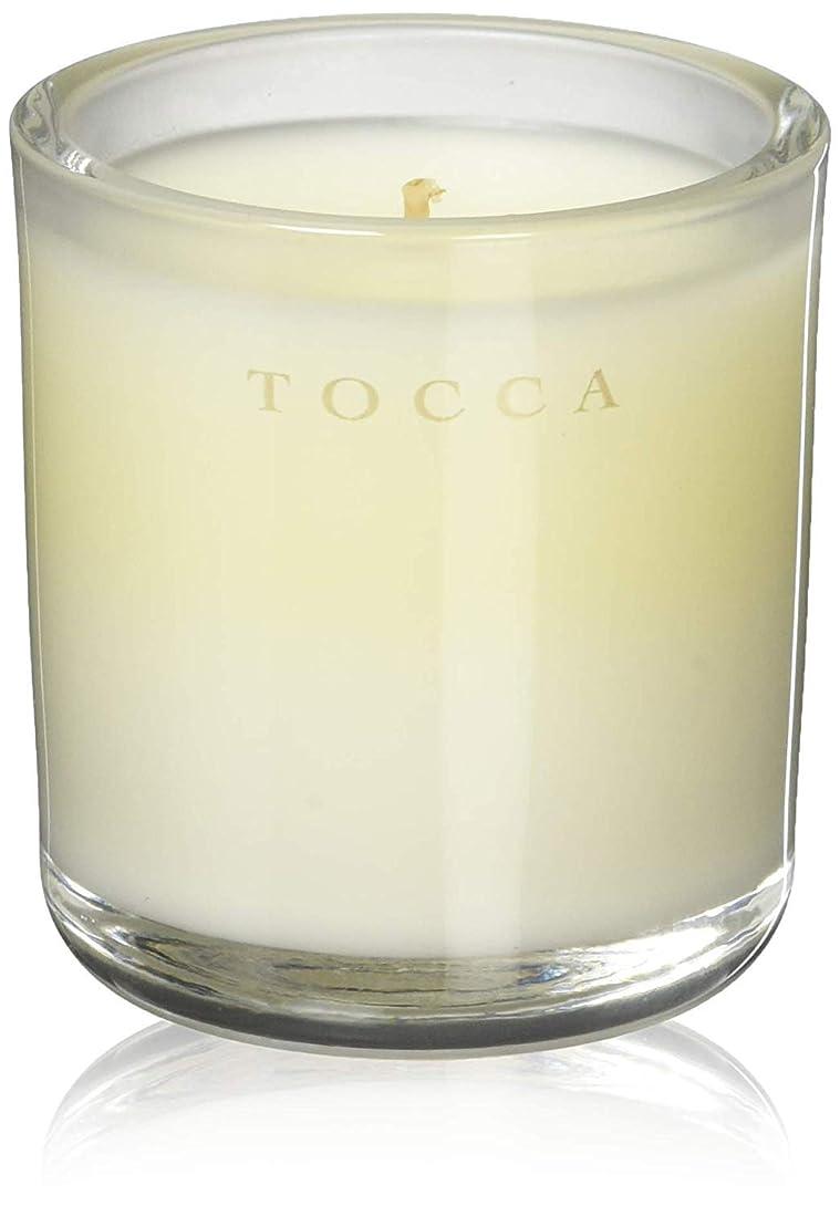 表現仕方フィードTOCCA(トッカ) ボヤージュ キャンデリーナ マラケシュ 85g (ろうそく 芳香 パチュリとアンバーのスパイシーな香り)