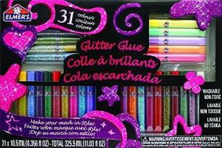 Elmer's 3D Washable Glitter Glue Pens, 31 Rainbow and Glitter Colors (E198) (B000AN3932) | Amazon price tracker / tracking, Amazon price history charts, Amazon price watches, Amazon price drop alerts
