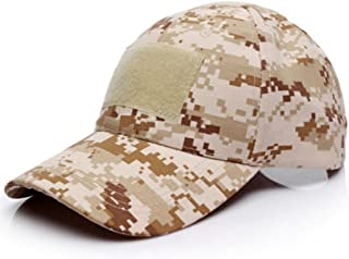 Malloom Unisex Hombres Mujeres Sombrero Gorro Camuflaje Selva Beisbol Ejército Caza Visera Sombrero Sol al Aire