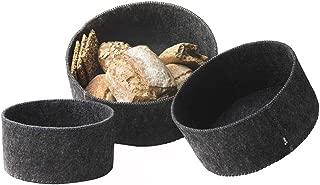 Menu New Norm Felt Bread Basket, Set of 3