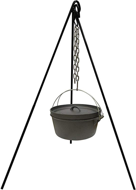 Stansport 15997 Cast Iron Camp Fire Tripod Renewed