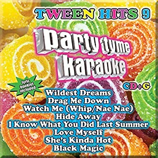 Party Tyme Karaoke - Tween Hits 9 [8+8-song CD+G] by Party Tyme Karaoke (2016-05-04)