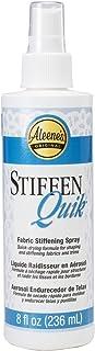 Aleene's 15581 Stiffen-Quick Fabric Stiffening Spray (8oz)