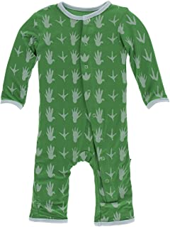 Kickee Pants Baby Boys' Print Coverall - Green - 6-9 Months
