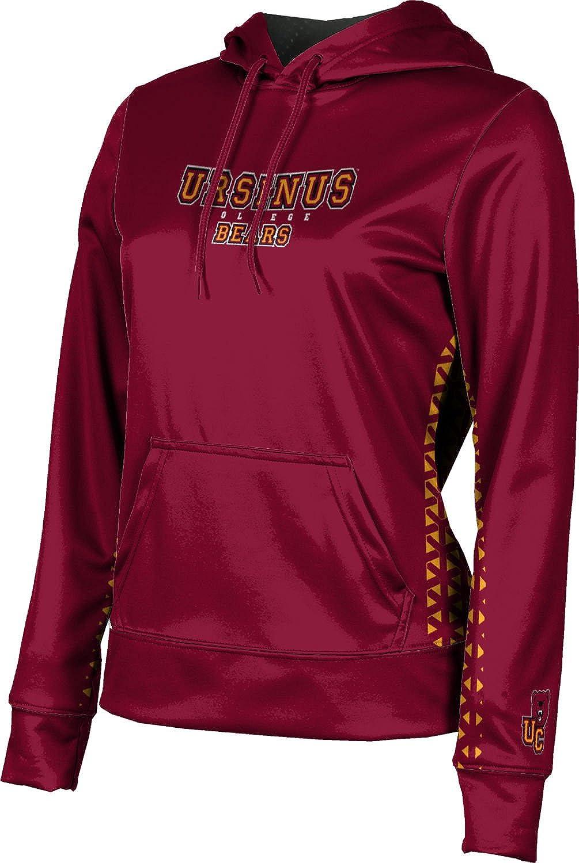 ProSphere Ursinus College Girls' Pullover Hoodie, School Spirit Sweatshirt (Geo)
