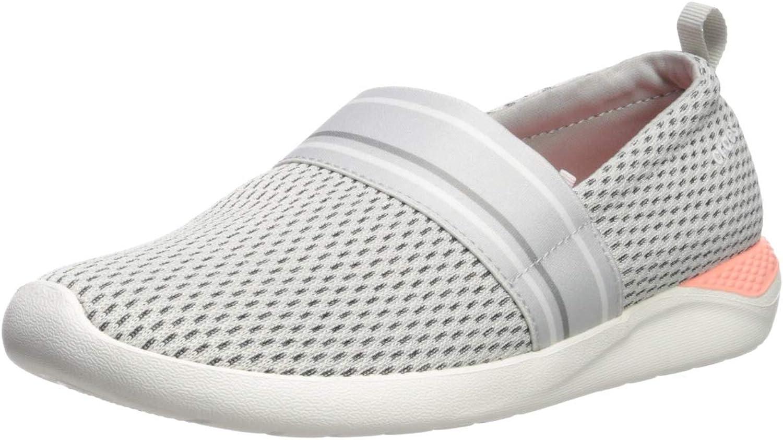 Crocs Womens Women's Literide Mesh Slip-on Sneaker