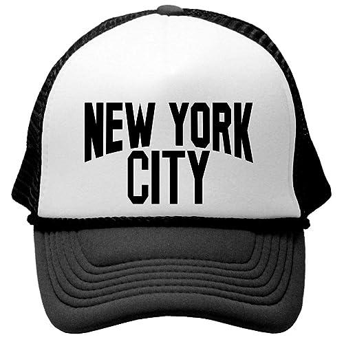 8e7312e733b NYC YORK CITY - retro mod style Mesh Trucker Cap Hat