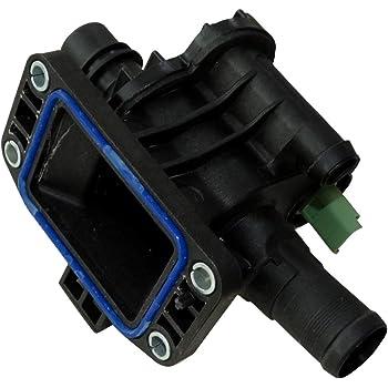 Caja de salida motor cuerpo de termostato 83/°C l/íquido de refrigerante compatible con OEM 1336.V6 C43331 AERZETIX