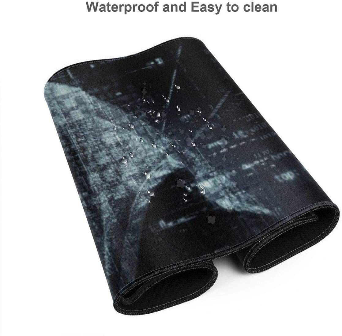 Stitched Edges Mousepad Chemistry Experiment Gaming Mouse Pad XL 31.5 X 11.8 Inch Extended Large Mouse Mat Desk Pad Long Non-Slip Rubber Base Mice Pad