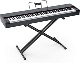 LAGRIMA LAG-620 Full Size Weighted Key Portable Digital Pian