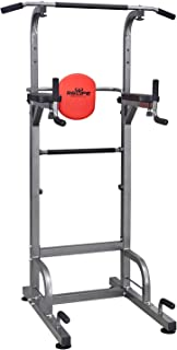 RELIFE REBUILD YOUR LIFE Power Tower Workout Dip Station...