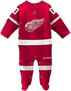 Detroit Red Wings Coverall Infant Baby (3-6 Months)