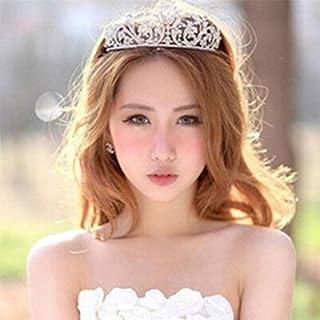 LnLyin – Diadema de diamantes de imitación para novia, 3#, cm