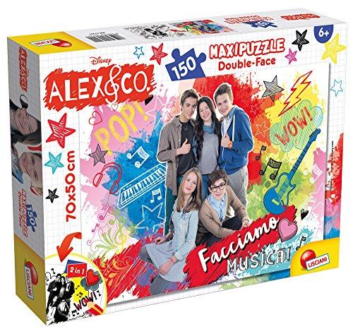 Lisciani Giochi 57221 - Puzzle DF Supermaxi 150 Alex & Co New Pop