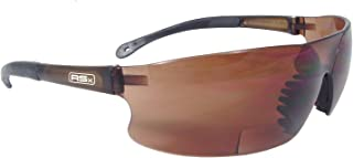 Radians RSB-415 Rad-Sequel RSx Lightweight Bi-Focal Glasses with Coffee Polycarbonate Lens