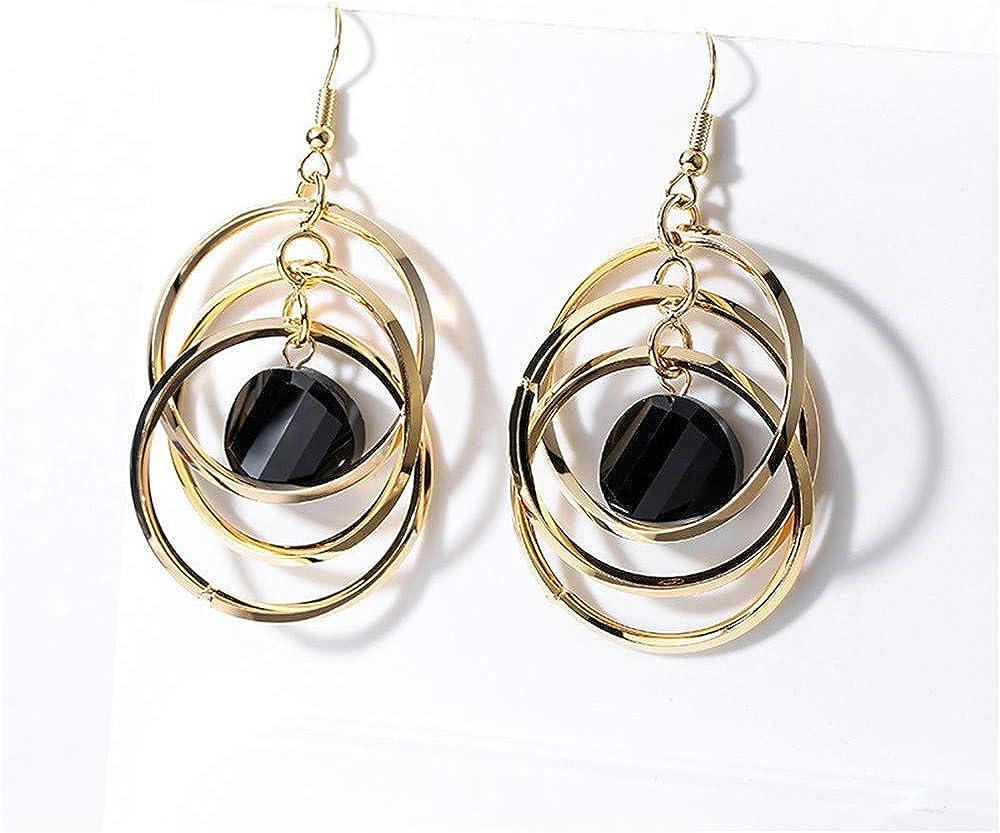 Pendant set di orecchini da donna con ciondolo, in argento sterling 925