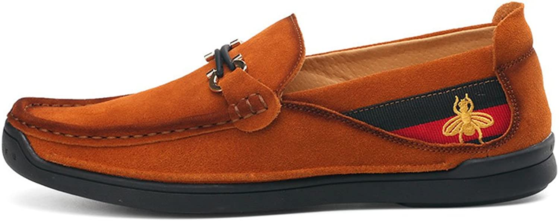 Men's Suede Peas shoes Foot Casual Moccasins