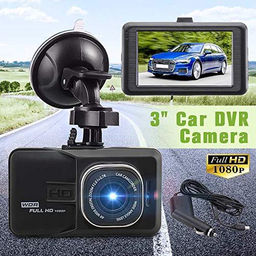 JSX 140 Grad Weitwinkel-Schlag-Kamera, Auto-Kamera-HD 1080P 3,0 Zoll-Schlag-Nocken-Fahrenrecorder Loop Record Auto Dvr Kamera Dashcam