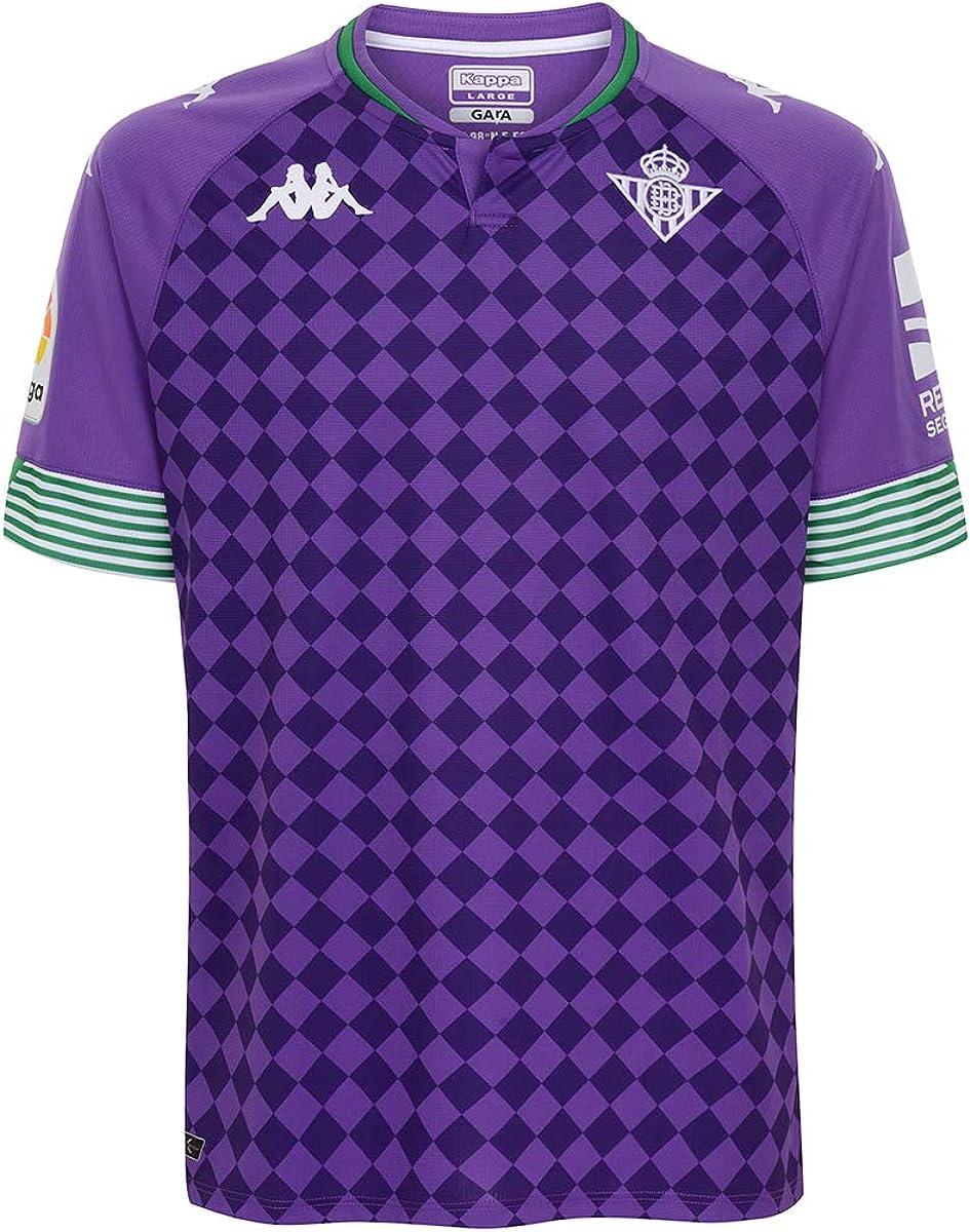 Kappa Segunda Equipación Real Betis Camiseta Hombre