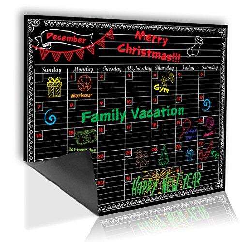 Dry Erase Magnetischer Monatsplaner Kreidetafel Stil Magnet Kalender Kühlschrank