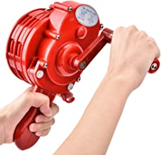 Handslinger, handbediende draagbare alarmsirene handslinger luchtbeschermingssirene brandweer rood