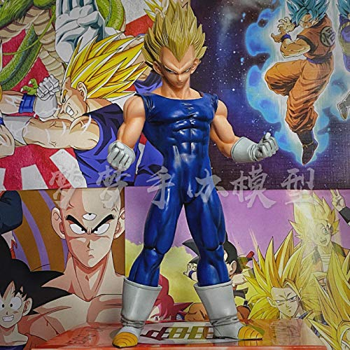Dragon Ball Apf Kampfform Super Race Son Goku Vegeta Trunks Handgefertigte Modell Ornamente-spot Exquisite Farbbox _ Große Gruppe Super Race Msp Vegeta (höhe Ca. 24 Cm) Figur Freund Modell Geschenk