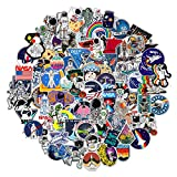 112pcs NASA Space Explorer Stickers Pack for Water Bottle Laptop ,Waterproof Vinyl Vsco Stickers Bomb, Space Gifts for Teens boys Cool Stickers for Skateboard Luggage Astronaut Universe Planet Graffiti Decals