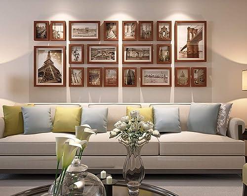 suministramos lo mejor DBSCD Foto Foto Foto de Parojo Madera Maciza Sala de Estar Europea Dormitorio Imagen de Parojo Marco de Fotos Combinación (Color  B)  tomar hasta un 70% de descuento