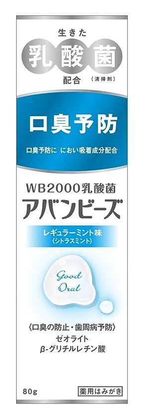 シンカンきつくスイングわかもと製薬 アバンビーズ レギュラーミント味 80g