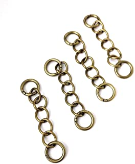 Miche interchangeable antique brass chain handle set