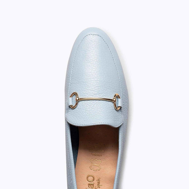 Tecnolog/ía del Confort Mocasines de Mujer Hechos en Espa/ña Mocasines Elegantes de Piel Zapatos miMaO