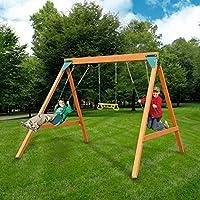 Swing-N-Slide PB 8360 Ranger Wooden Swing Set