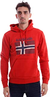 Red Sweater with Hood, Hombre.