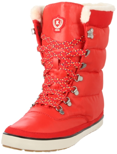 Keds Cream Puff Boot WF41192, Damen Stiefel, Rot (poppy red), EU 39