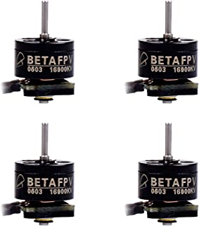 BETAFPV 4pcs 0603 16000KV Brushless Motor 1S FPV Motor for 1S Brushless 65mm Micro Drone FPV Tiny Whoop Drone Like Meteor65 Micro Whoop Drone